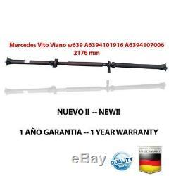 ARBRE DE TRANSMISSION Mercedes Vito Viano w639 A6394101916 / BRAND NEW PROPSHAFT