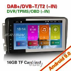 Android 9.0 Autoradio GPS DAB+Mercedes C/CLK/G Class W203 W209 Vito Viano TNT 4G
