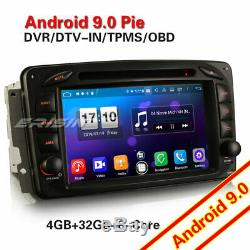 Android 9.0 DAB+Autoradio NAVI Mercedes Benz C/G/CLK class W203 W209 Viano VITO