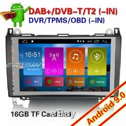 Android 9.0 Mercedes Autoradio Navi TNT DVR A/B Classe W169 Sprinter Viano Vito