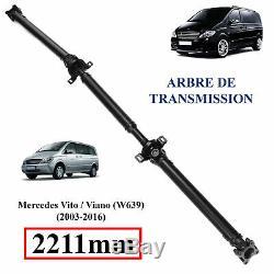 Arbre de transmission pour Mercedes Vito Viano W639 2211MM = A6394103206