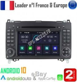 Autoradio GPS Android 10 Mercedes Classe A B Viano Vito Sprinter & VW CRAFTER