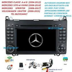 Autoradio Gps Android Dvd CAMERA MERCEDES SPRINTER-VITO-VIANO-A/B + VW CRAFTER