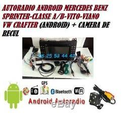 Autoradio Gps Dvd Android usb sd card MERCEDES VITO-VIANO-SPRINTER- A/B+caméra
