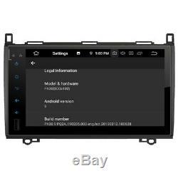 Autoradio écran 9 GPS Android 10 Mercedes Classe A B Viano Vito Sprinter & VW C