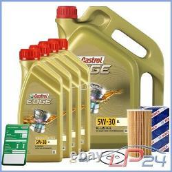 Bosch Filtre À Huile+9l Castrol Edge Fst 5w-30 LL Mercedes Vito W-638 108-112