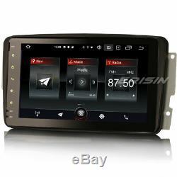 DAB+ Android 10.0 Autoradio GPS TNT Mercedes C/CLK/G Class W209 Viano Vito W463