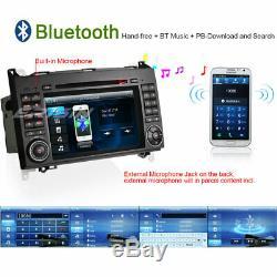 DAB+Autoradio Bluetooth CD GPS Mercedes A/B Classe W169 W245 Sprinter Vito Viano