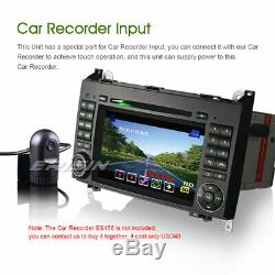 DAB+Autoradio Bluetooth DVD Mercedes A/B Classe W169 Sprinter Viano Vito Crafter