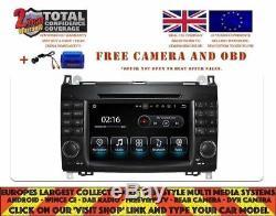 DVD Gps Navi Android 8.1 Dab Carplay Mercedes Benz Viano/vito W639 06-12 8822a