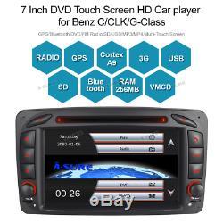 GPS DVD Autoradio Pour Mercedes Benz C/CLK/G Class W203 W209 Viano Vito DAB+ 3G