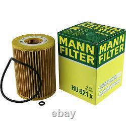 LIQUI MOLY 10L 5W-30 Huile + Mann-Filter Pour Mercedes-Benz Vito Autobus W639