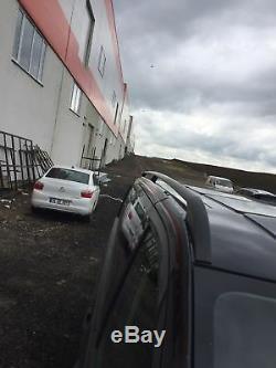 Mercedes Vito COURT 2003+ Rails de toit et barres transversales en aluminium