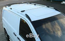 Mercedes Vito LONGUE 2003+ Rails de toit et barres transversales en aluminium