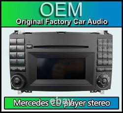 Mercedes Vito Radio Stéréo Bluetooth Lecteur CD, W639 MF2830 A1699002000