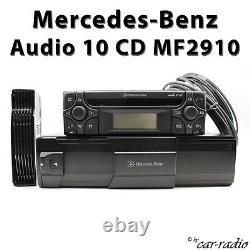 Original Mercedes Audio 10 CD Mf2910 Alpine Becker Radio de Voiture Avec