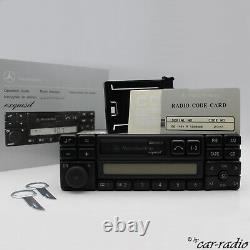 Original Mercedes Exquise BE1491 Becker Cassette Autoradio A0038203586 07 Radio