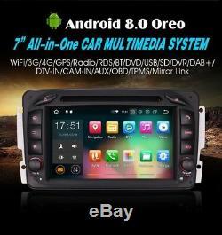 Radio DVD 7 Mercedes Benz Serie A C M Vito Viano Android 8 Gps, Usb Wifi