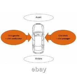 Rétroviseur extérieur avant droit électrique Mercedes Viano W639 2003-2010