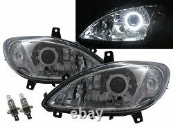 W639 VIANO 03-10 Guide LED Angel-Eye Feux Avant Phare CH for Mercedes-Benz LHD